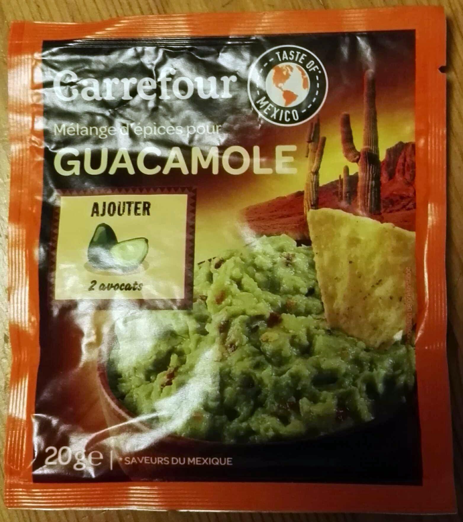 Mélange d'épices pour Guacamole - Produit - fr