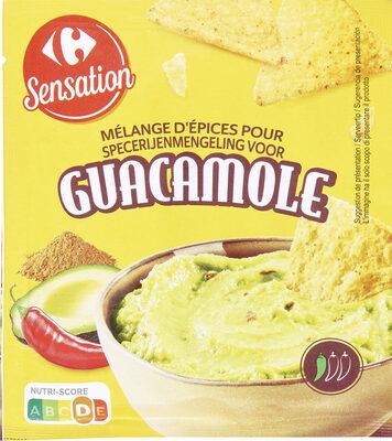 Mélange d'épices pour Guacamole - Prodotto - fr