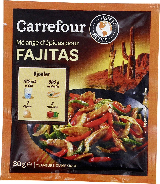 Mélange d'épices pour FAJITAS - Producto - es