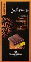 NOIR Saveur Mangue & Poivre Sichuan - Produit - fr
