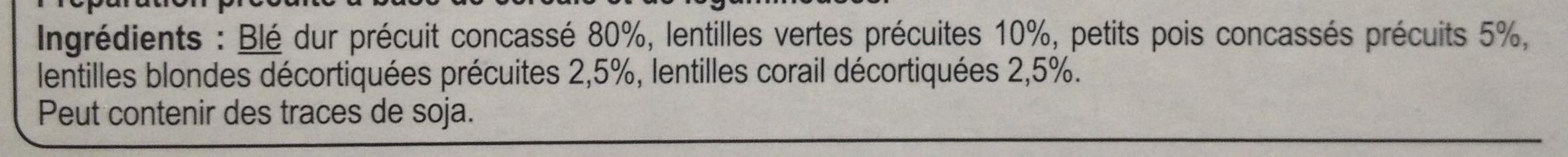 melanges gourmands - Ingrédients - fr