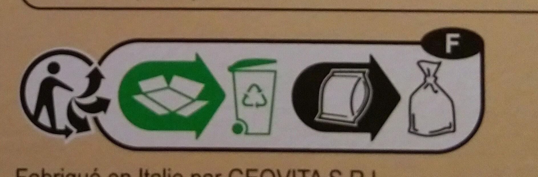melanges gourmands - Instruction de recyclage et/ou information d'emballage - fr