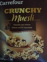 CRUNCHY Muesli Chocolat noir intense - Product - fr