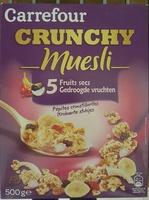 Carrefour Crunchy Muesli croustillant 5 Fruits secs - Product - fr