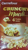 Crunchy Muesli 4 Fruits Secs - Produit