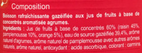 Saveur Agrumes Pétillant - Ingredients - fr