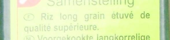 Riz Long Grain - Ingrediënten