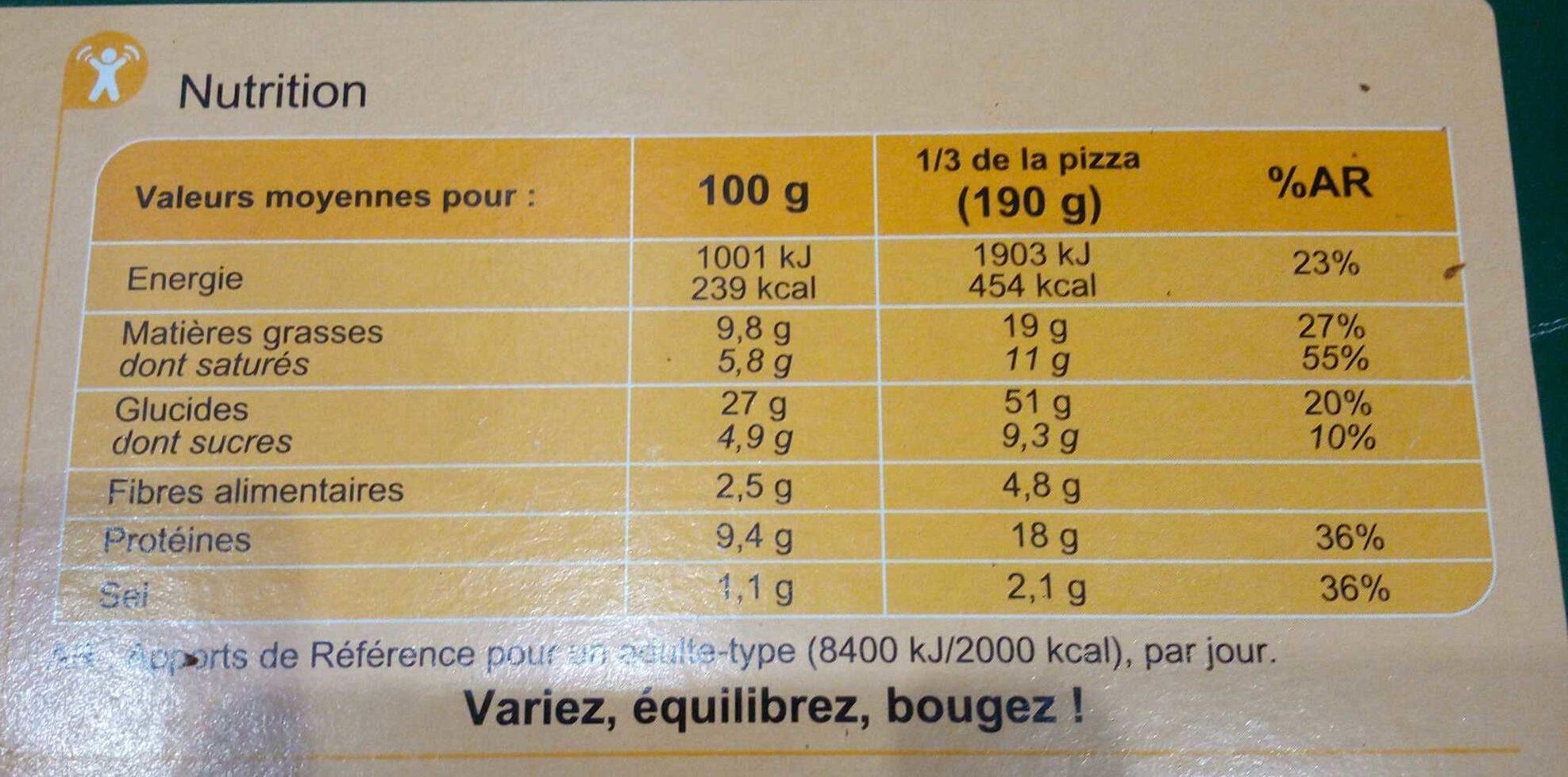 pizza 4 fromages carrefour calories valeurs nutritionnelles et avis de consommation. Black Bedroom Furniture Sets. Home Design Ideas
