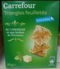 Triangles feuilletés au cheddar et aux herbes de Provence - Produit
