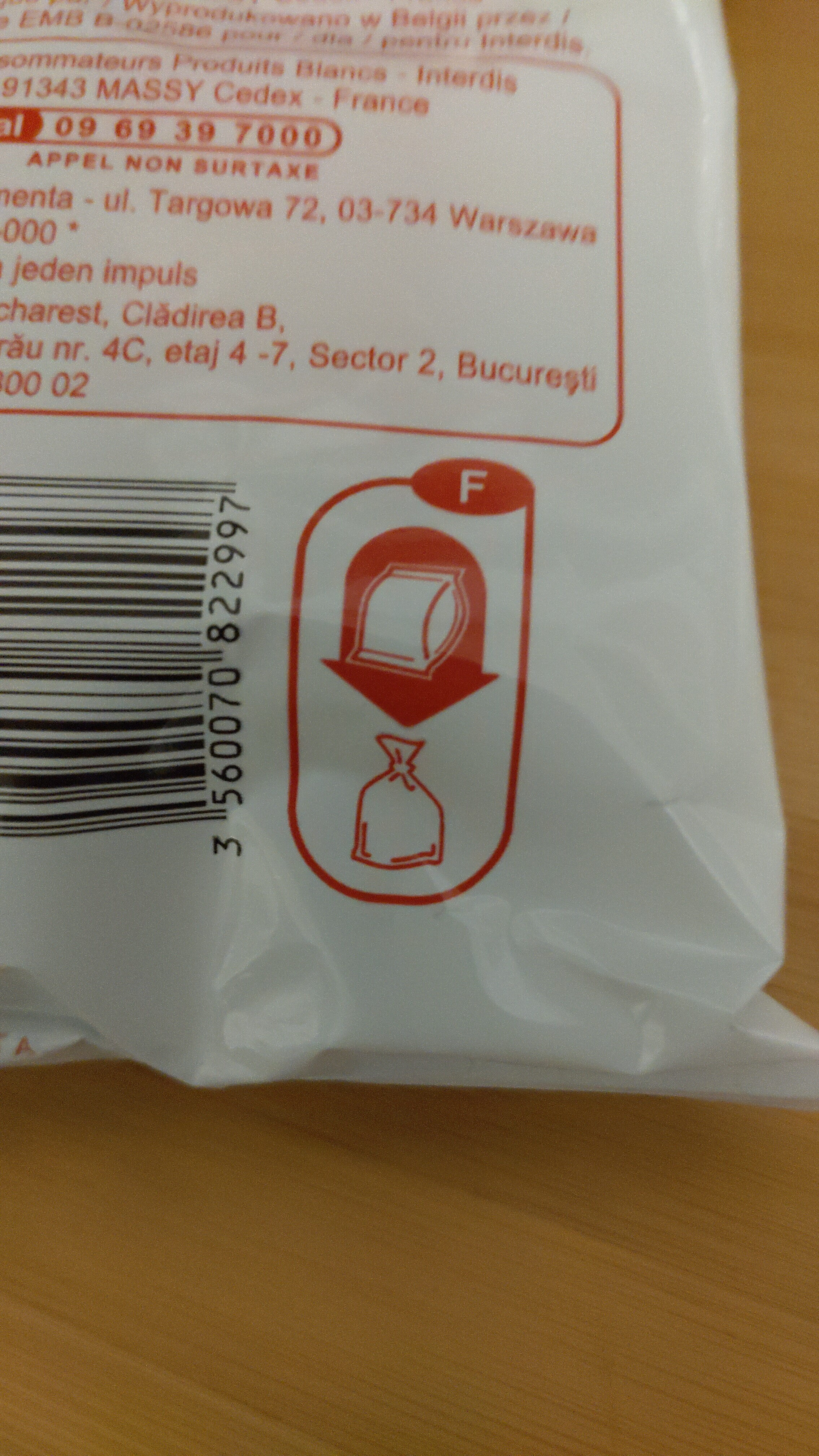 Tortilla chips - Recycling instructions and/or packaging information - fr