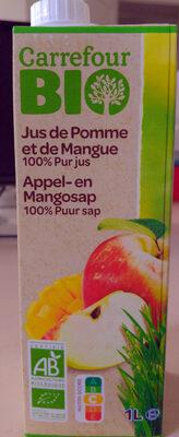 Jus de Pomme et de Mangue - Product - fr