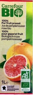 Jus de pamplemousse rose bio - Product - fr