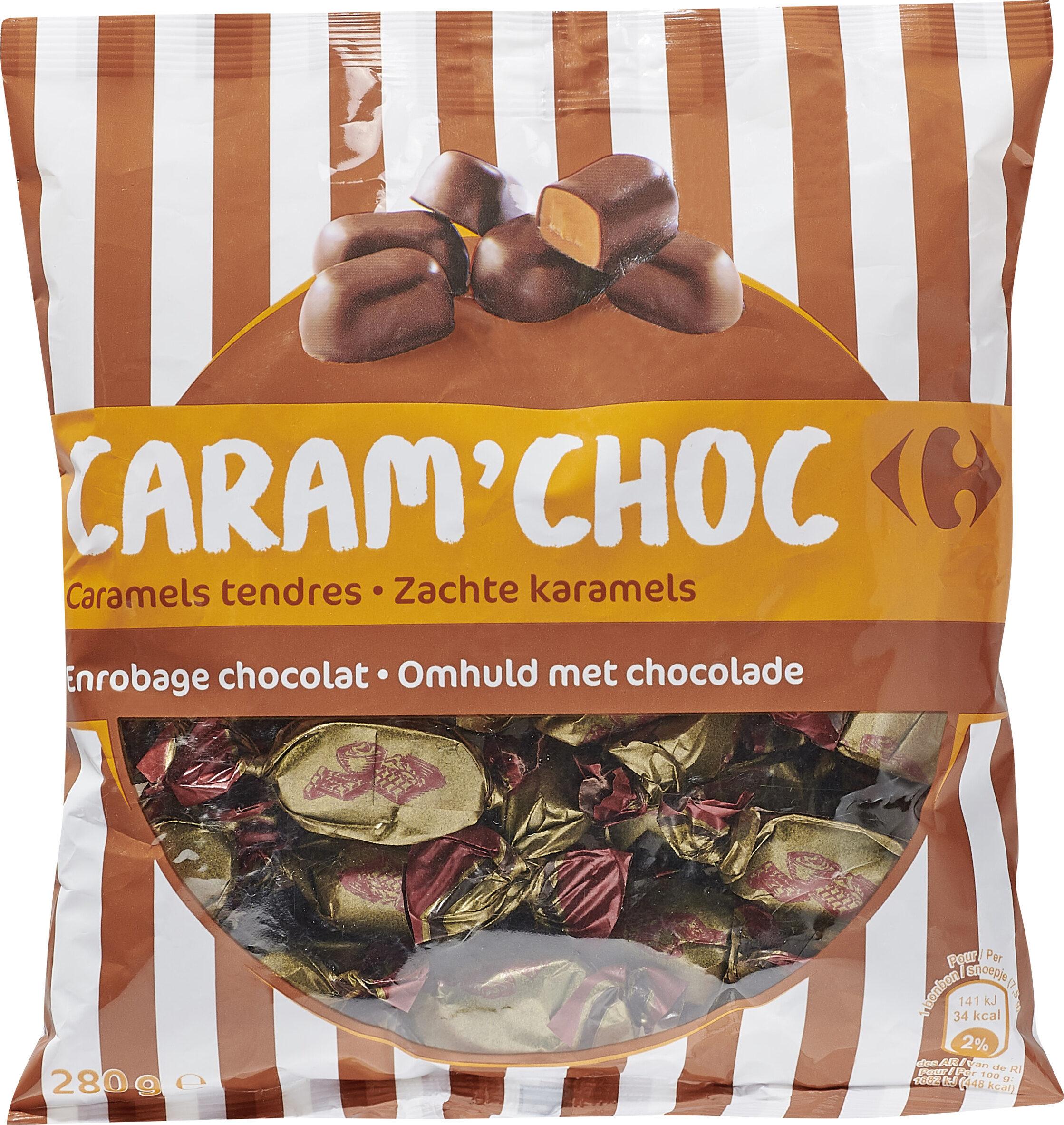 CARAM'CHOC Caramels tendres - Product - fr