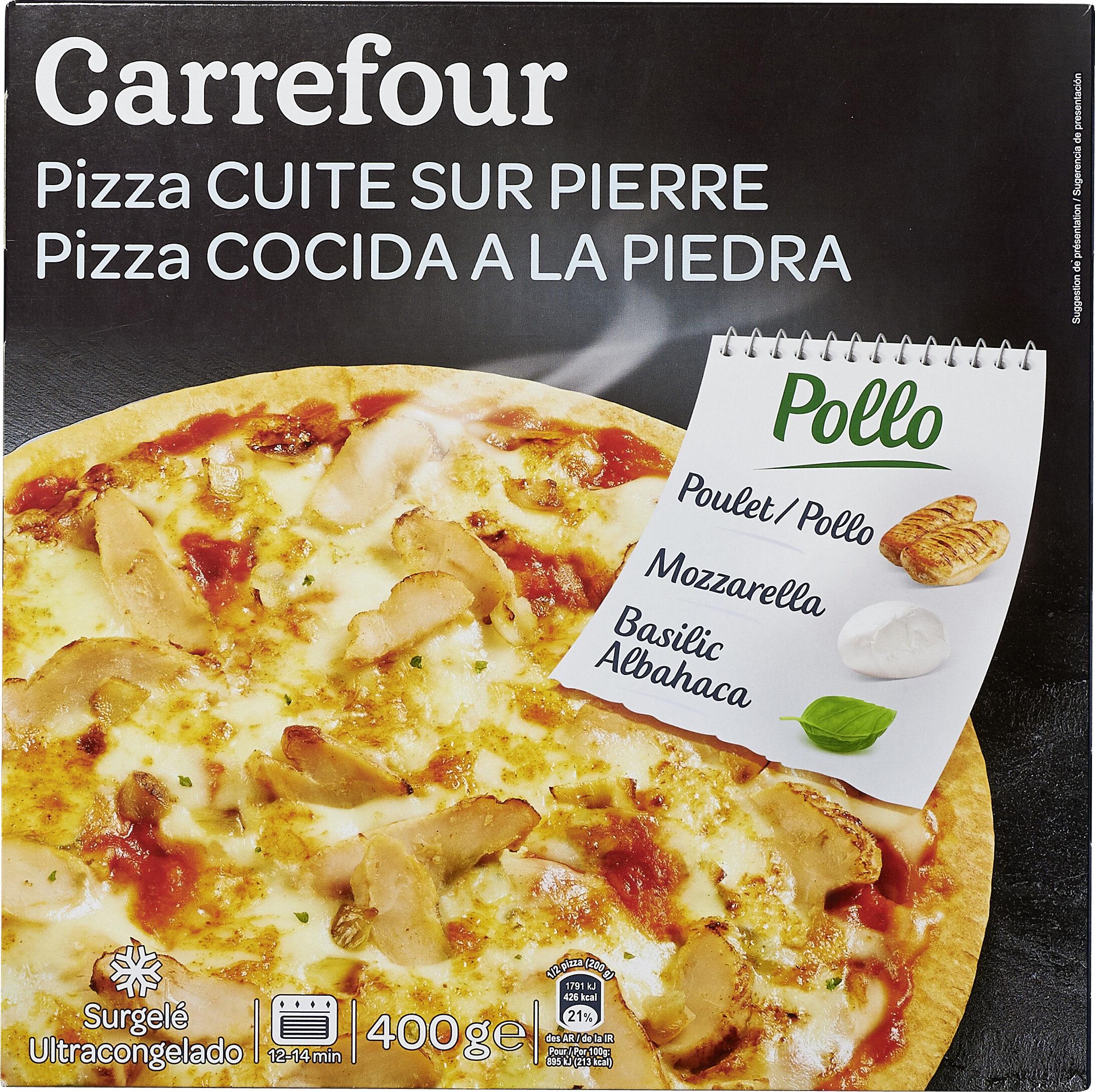 Four À Pizza Extérieur pizza pollo - carrefour - 400 g