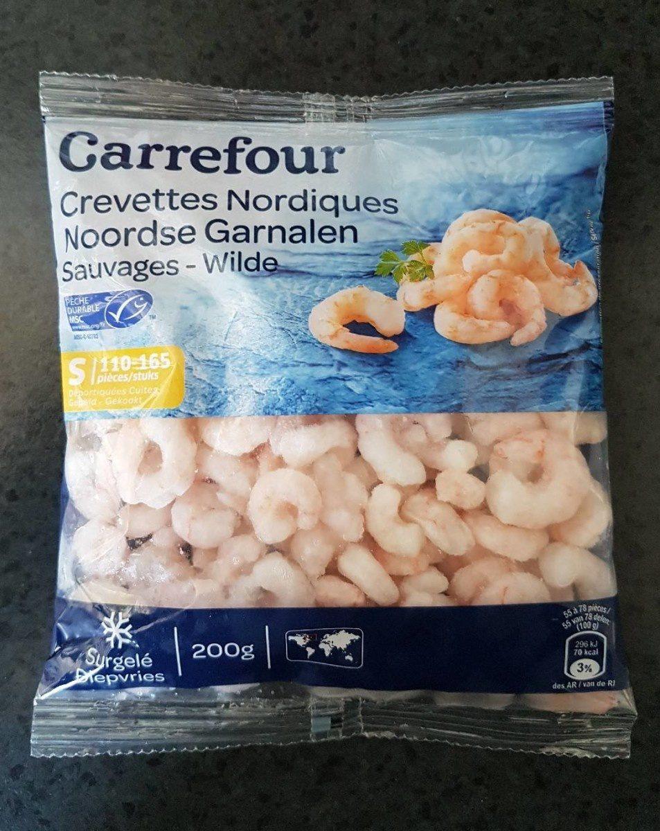 Crevettes Nordiques  Sauvages - Producte - fr