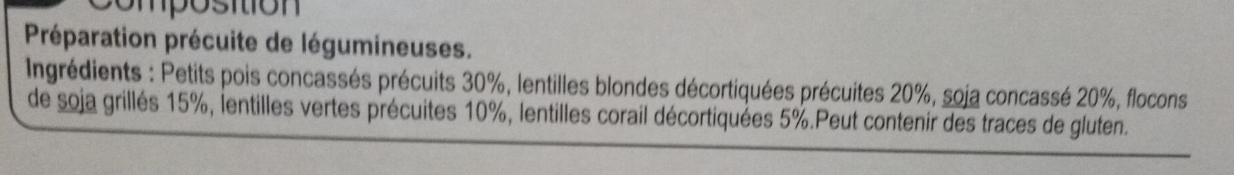 Nos Mélanges Gourmands Violet - Ingredients
