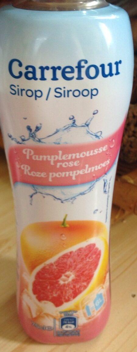 Sirop plamplemousse rose - Produit - fr