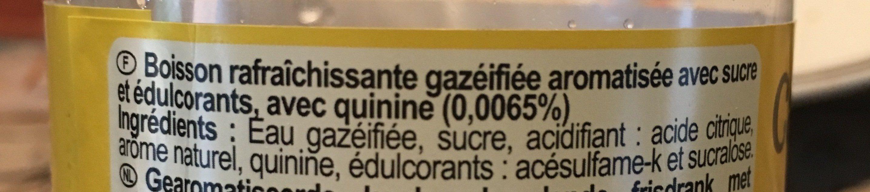 Tonic - Ingrédients