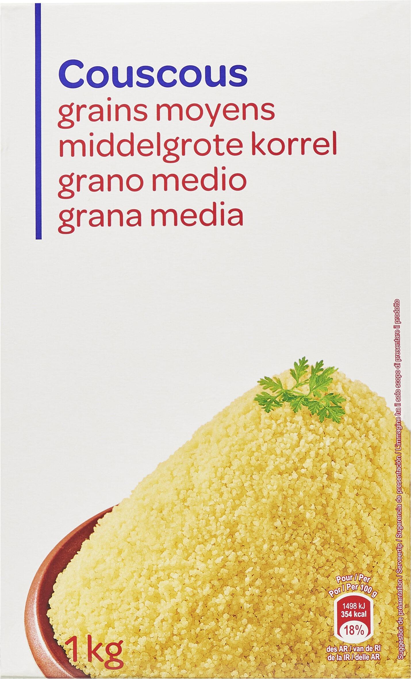 Couscous grains moyens - Product - fr