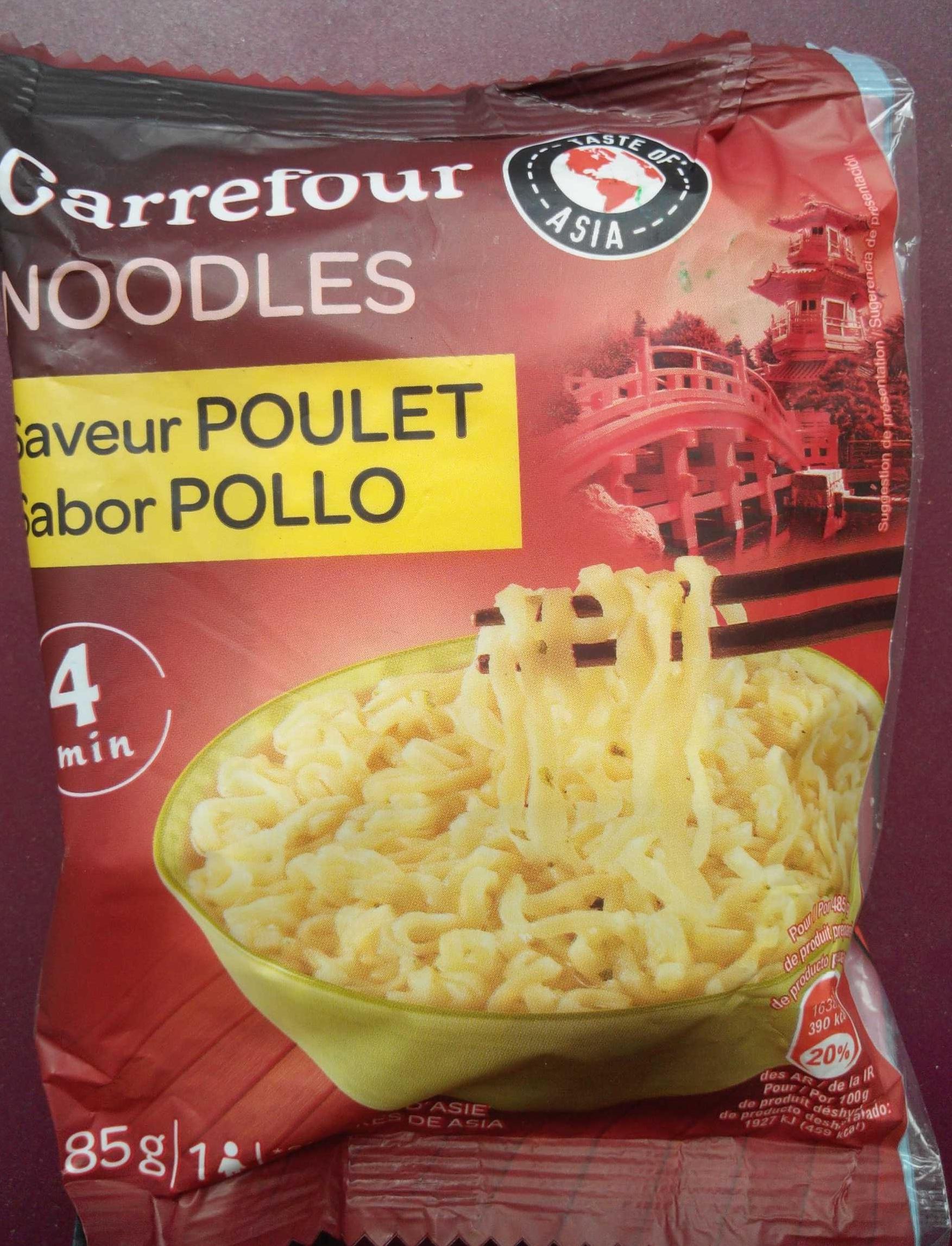 Noodles saveur poulet - Product - fr