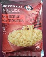 Noodles saveur Bœuf - Product - fr