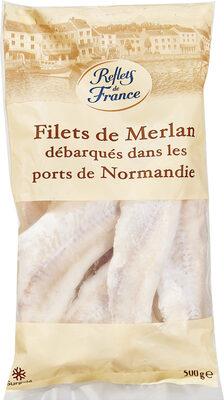 Filets de Merlan débarqués dans les ports de Bretagne - Prodotto