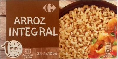 Arroz integral - Produit