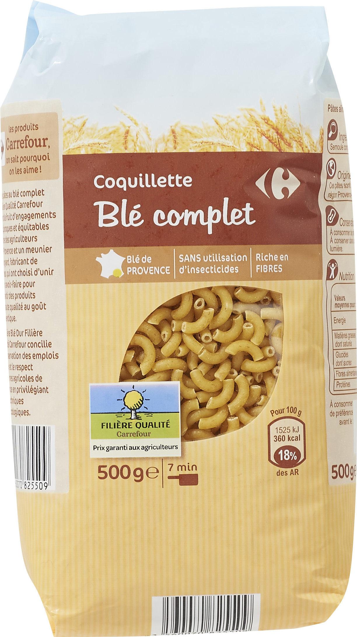 Coquillette Blé complet - Product - fr