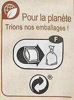 Coquillettes au Blé complet - Istruzioni per il riciclaggio e/o informazioni sull'imballaggio - fr