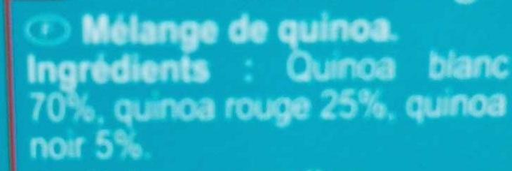Mélange 3 quinoa - Ingredients - fr