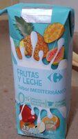 Bebida Frutas y Leche sabor Mediterráneo - Product