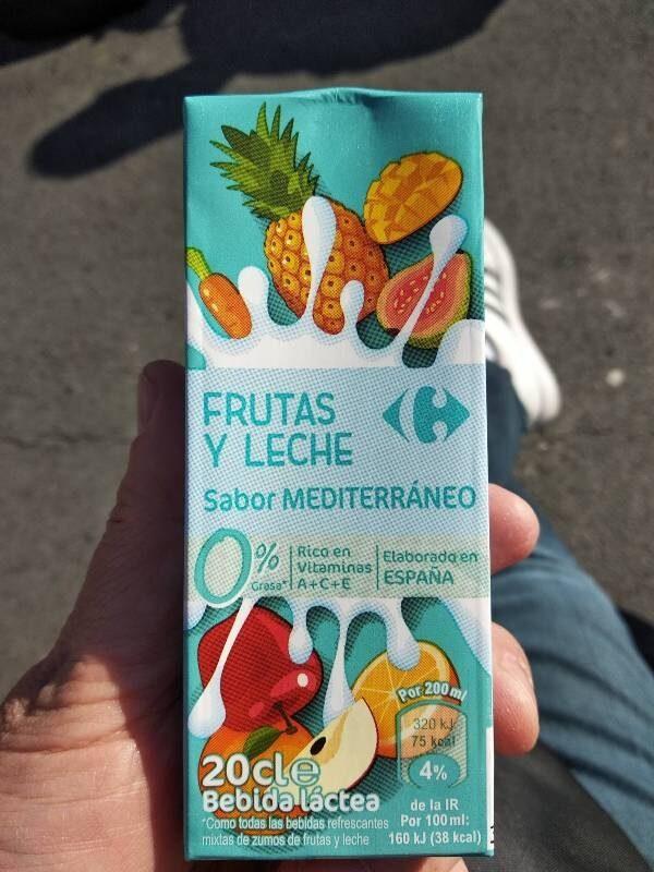 Bebida Frutas y Leche sabor Mediterráneo - Producte