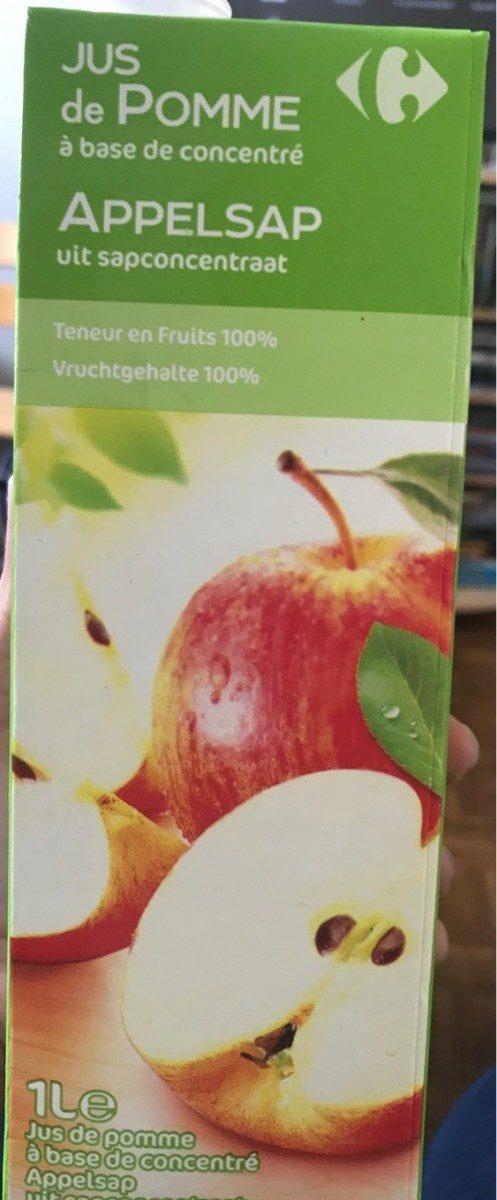 Jus de pomme (à base de concentré) - Producte - fr