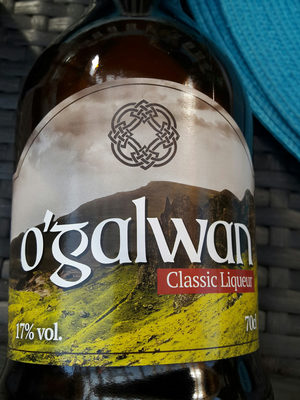 O'GALWAN Classic Liqueur - Ingrediënten - fr