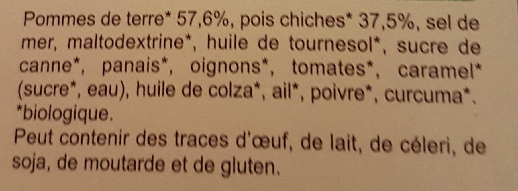 Purée aux Pois Chiches - Ingredients