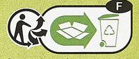 Pois cassés - Instruction de recyclage et/ou informations d'emballage - fr