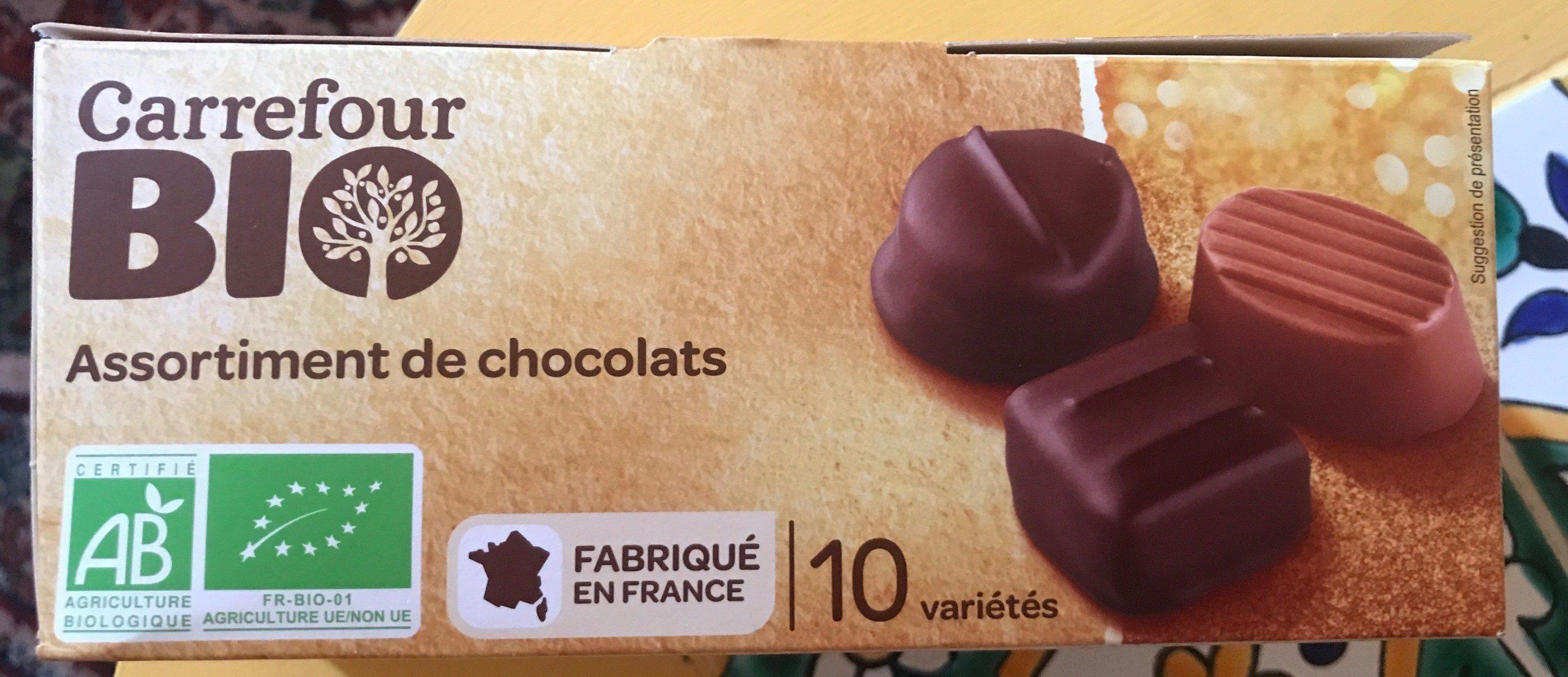 Assortiment de chocolats - Produit