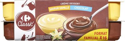 Crème dessert 8 Chocolat 8 Saveur vanille - Product - fr