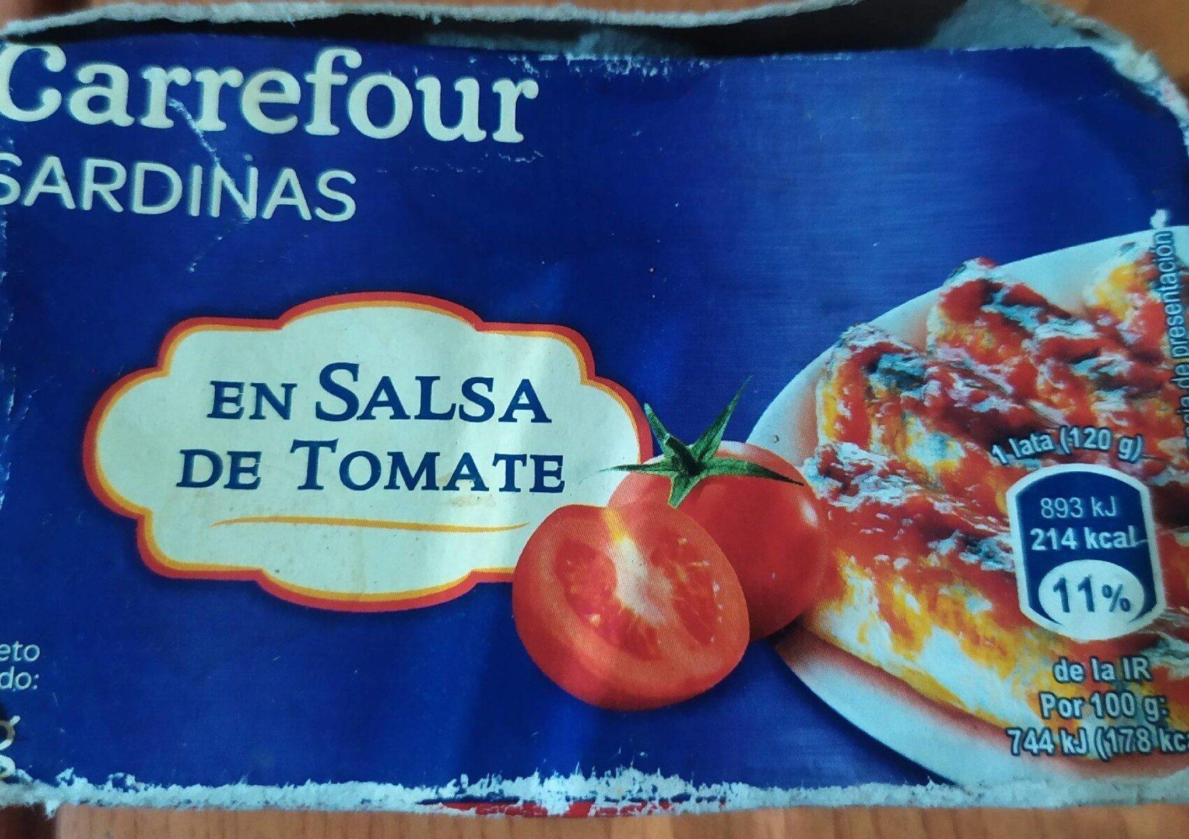 Sardinas en salsa de tomates - Producto - es