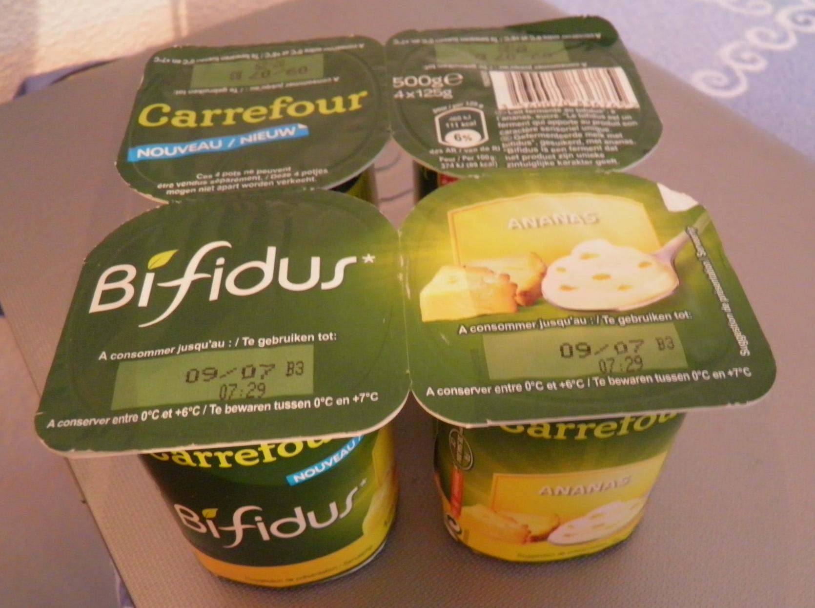 Bifidus Ananas - Product - fr