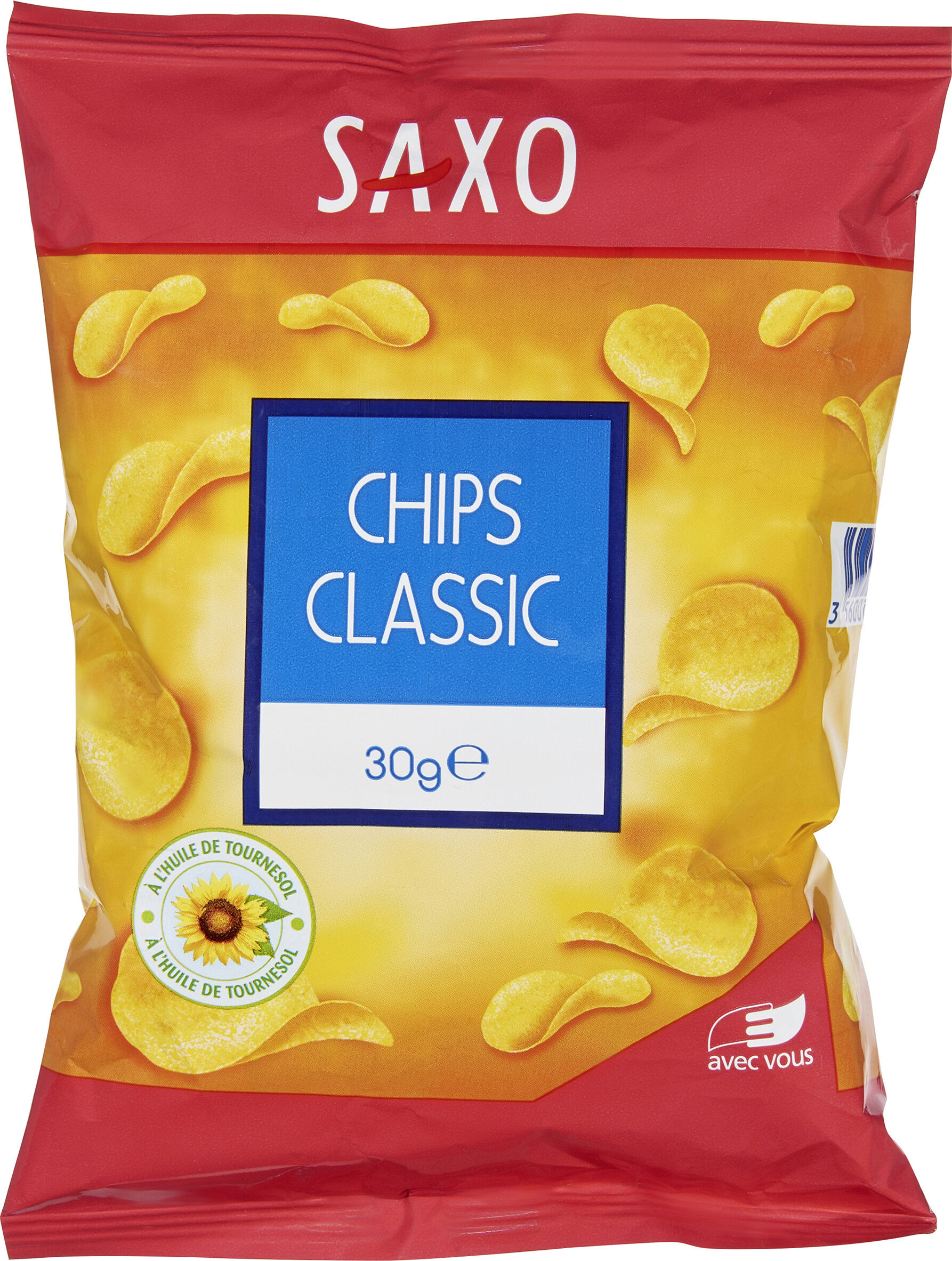 Saxo chips classic - Prodotto - fr