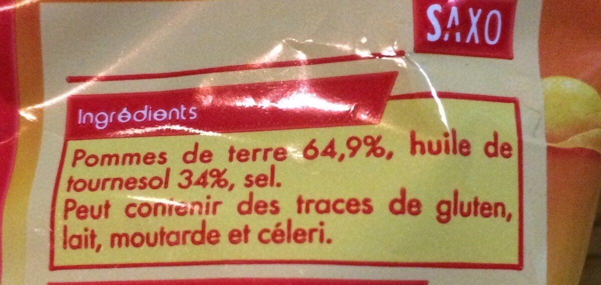 Saxo chips classic - Ingredienti - fr