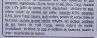 Croustillant au Chocolat Noir - Ingrédients - fr