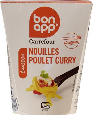 Nouilles légumes poulet curry vert - Product - fr