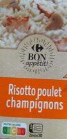 Risotto poulet champignons - Produit - fr