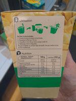 Tortellini ricotta épinards - Informations nutritionnelles - fr