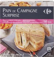 Pain de campagne surprise - Produit - fr