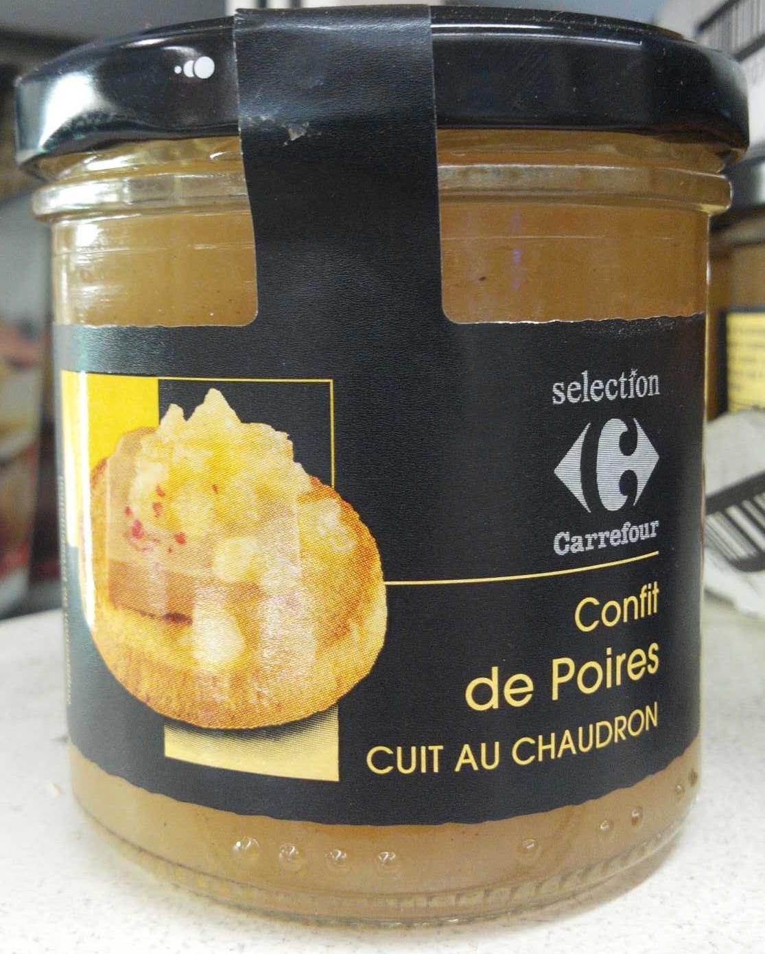 Confit de poires - Produit - fr