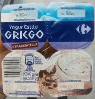 Yogur estilo griego Stracciatella - Producte - es