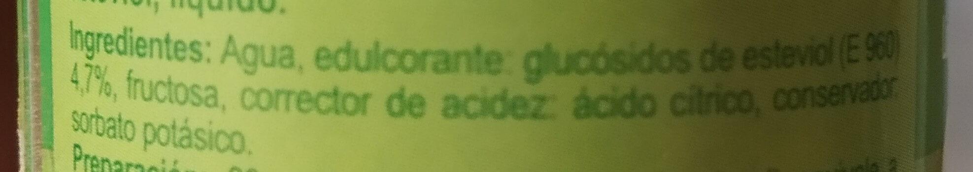 Líquido glucósidos de Esteviol - Ingredientes - es